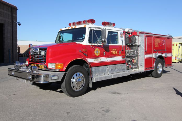 US Navy Pierce Pumper Refurbishment After