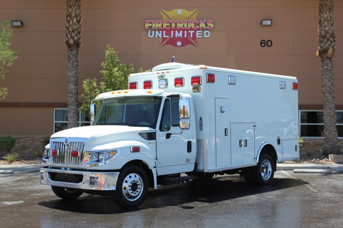 Iron County Sheriff's Department Ambulance Remount After