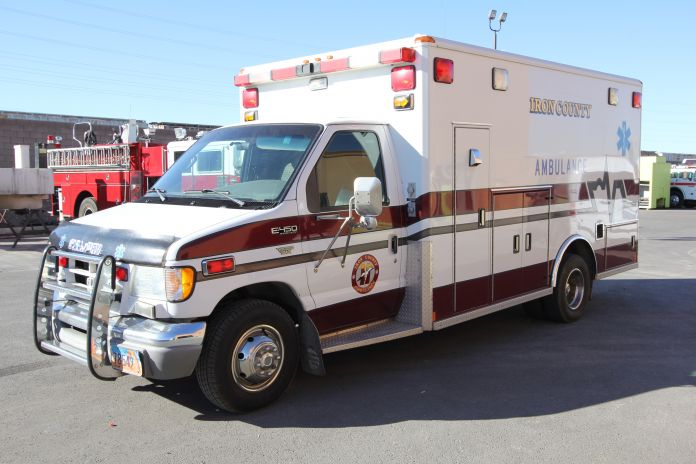 Iron County Sheriff's Department Ambulance Remount Before