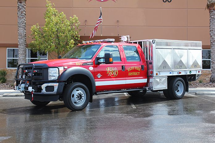 Eloy Fire District Brush Truck