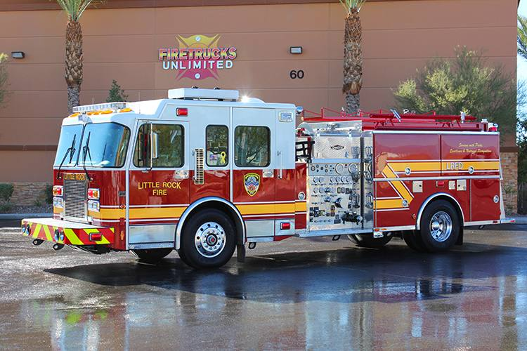 Little Rock FD Spartan/Quality Pumper Refurbishment After
