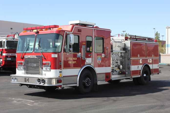 Little Rock FD Spartan/Quality Pumper Refurbishment Before