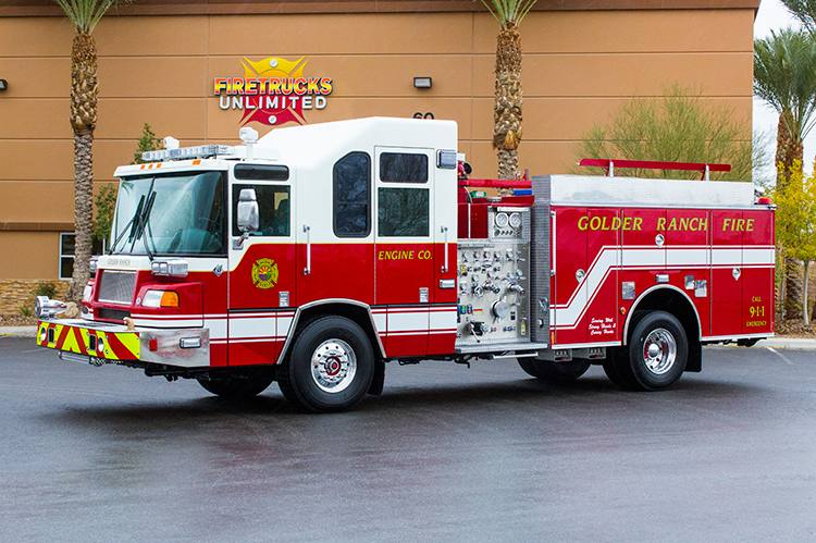 Golder Ranch FD - 2001 Pierce Quantum Refurbishment After