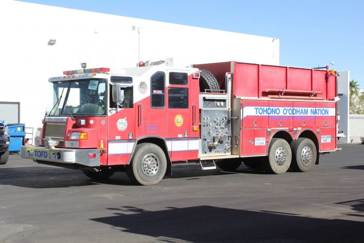 White Pine Pierce Quantum Pumper Tanker Refurbishment Before