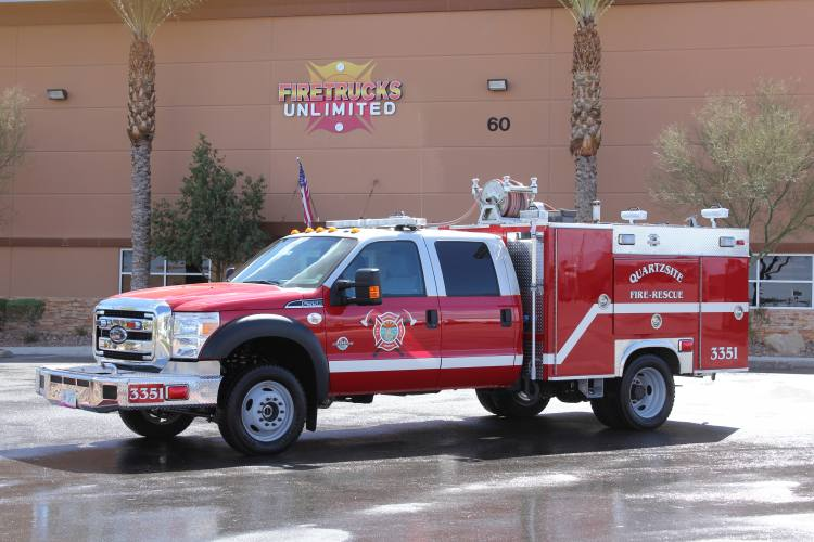 Quartzite Fire Rescue - 2002 Type 6 Remount After