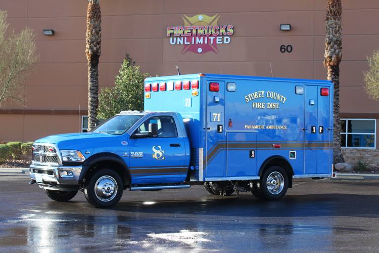 storey county fd ambulance remount firetrucks unlimited