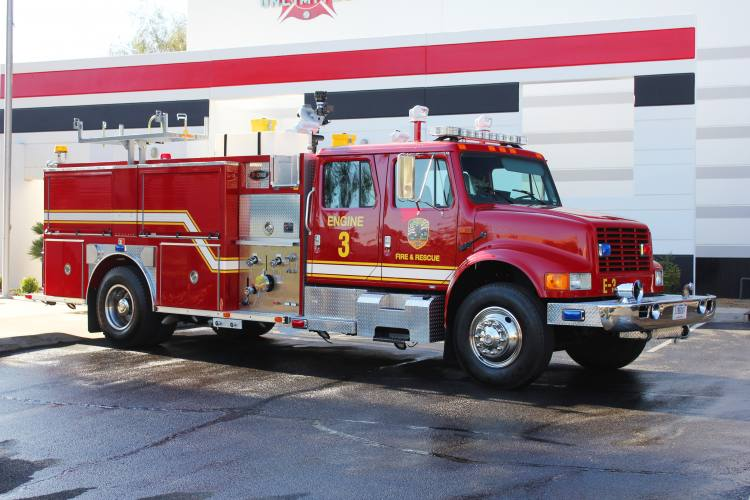 1299 National Security Technologies 1994 E-One Pumper