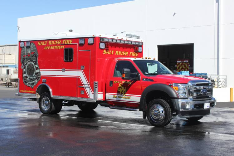 1333 Salt River Fire Department - Ambulance Remount After
