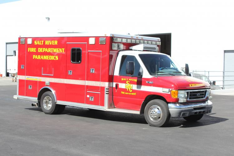 1333 Salt River Fire Department - Ambulance Remount Before