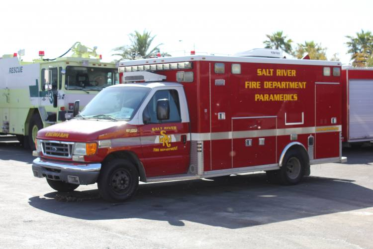 Salt River Fire Department Ambulance Remount #1334 Before