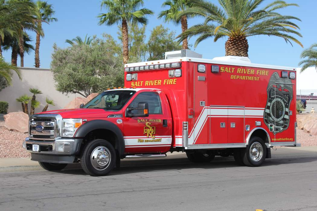 Salt River Fire Department Ambulance Remount After