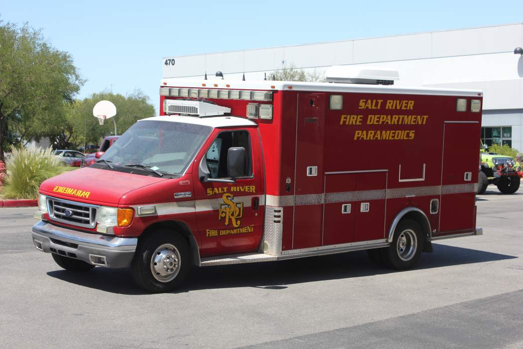 Salt River Fire Department Ambulance Remount Before
