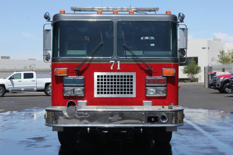1336 Cedar Mountain Fire Department - 1992 Spartan Pumper