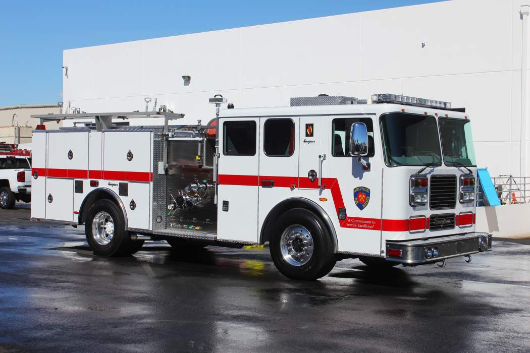 Apple Valley Fire District - Seagrave Pumper Refurbishment #1337 After