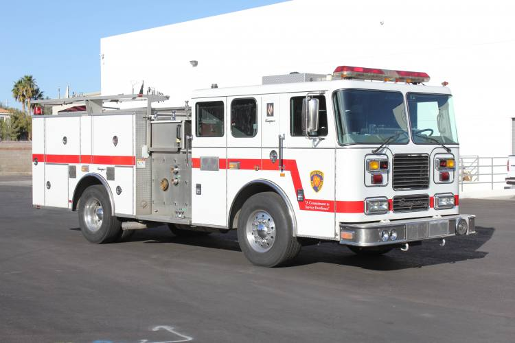 Apple Valley Fire District - Seagrave Pumper Refurbishment #1337 Before
