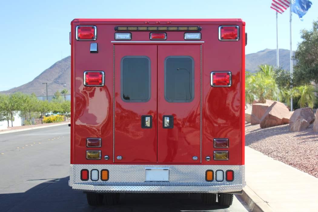 Mrp at wheeled coach ambulance
