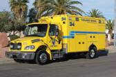 1543 Clark County Fire Department - 2016 Freightliner M102 / Road Rescue Ambulance Remount