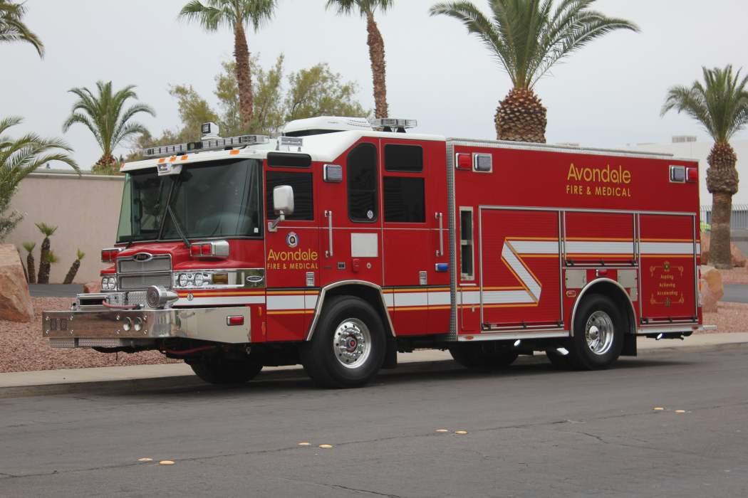 1620 avondale fire department 2005 pierce quantum pumper for Avondale motor vehicle division avondale az