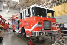 1730 Truckee Fire District - 2002 Spartan Pumper Refurbishment
