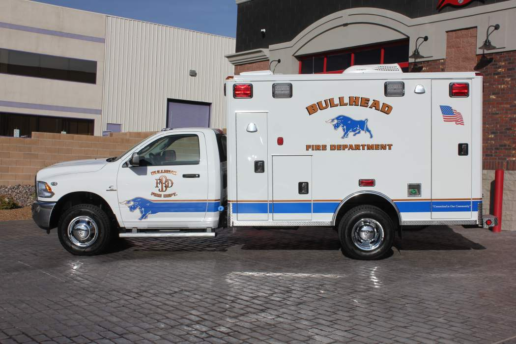 1813 Bullhead Fire Department - 2018 Ambulance Remount