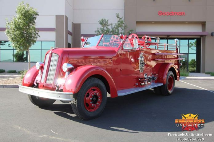 1950 Seagrave Fire Truck | Firetrucks Unlimited