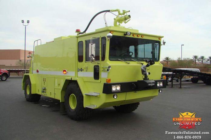 1980 Oshkosh T-6 ARFF Truck