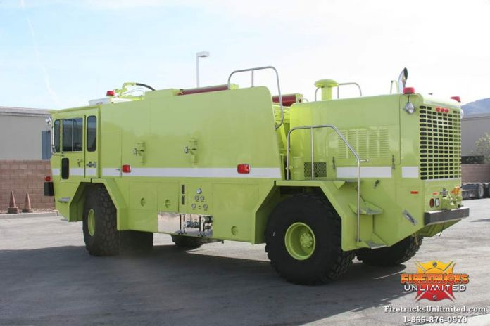 1980 Oshkosh T-6 ARFF Truck For Sale
