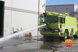 Refurbished 1991 Oshkosh T-6 ARFF Truck