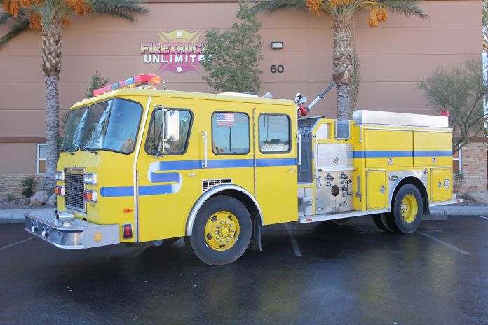 1992 E-One Pumper