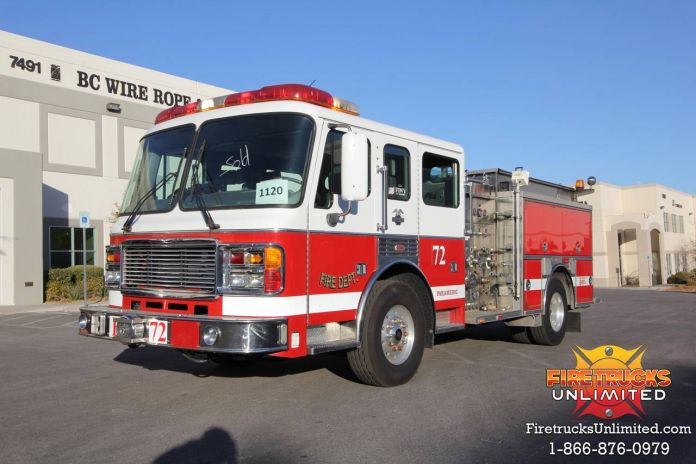 1997 American LaFrance Pumper For Sale