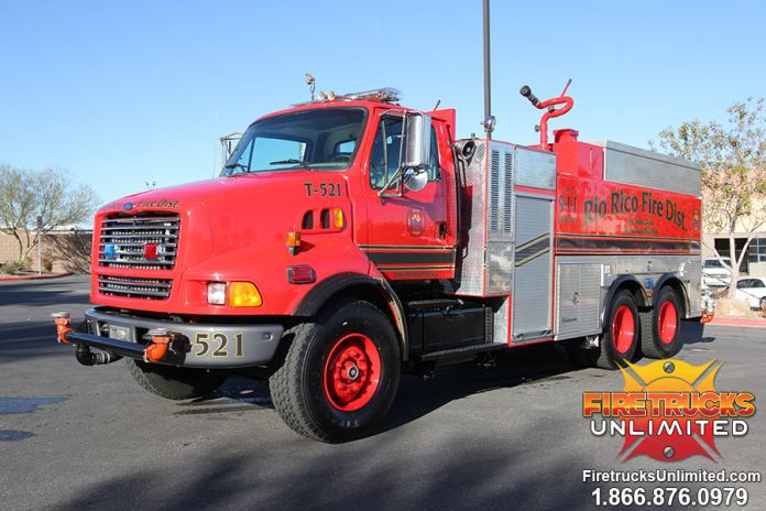 1998 Ford Lt9000 Tactical Water Tender W Cafs