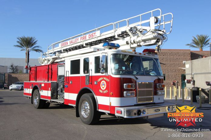 Green Valley Fire District - 1998 Pierce Telesquirt #1128 Before