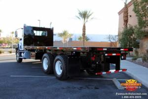 Caterpillar 24 Foot Flat Bed