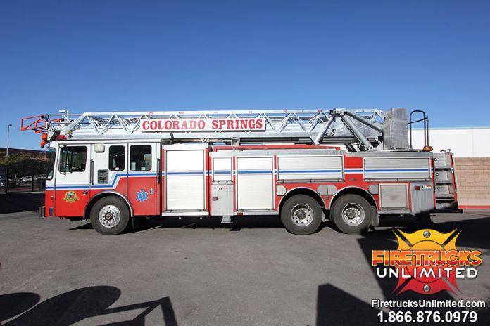 Colorado Springs Fire Department 1999 Hme Aerial