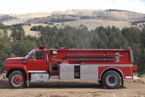 Ford F800/SMEAL T-1600 Water Tanker