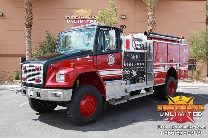 Lincoln County Fire District - Freightliner Quality 4x4 ...