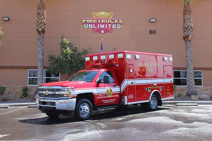 Golder ranch ambulance remount firetrucks unlimited golder ranch ambulance remount freerunsca Choice Image