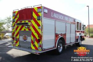 Lakeside Fire District 2012 KME Custom Pumper