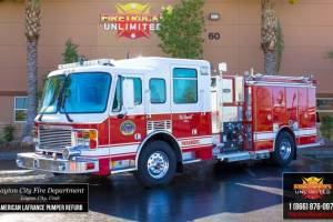 Layton Fire Department American LaFrance Pumper Refurbishment