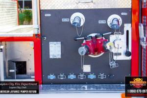 k-lLayton Fire Department American LaFrance Pumper Refurbishment