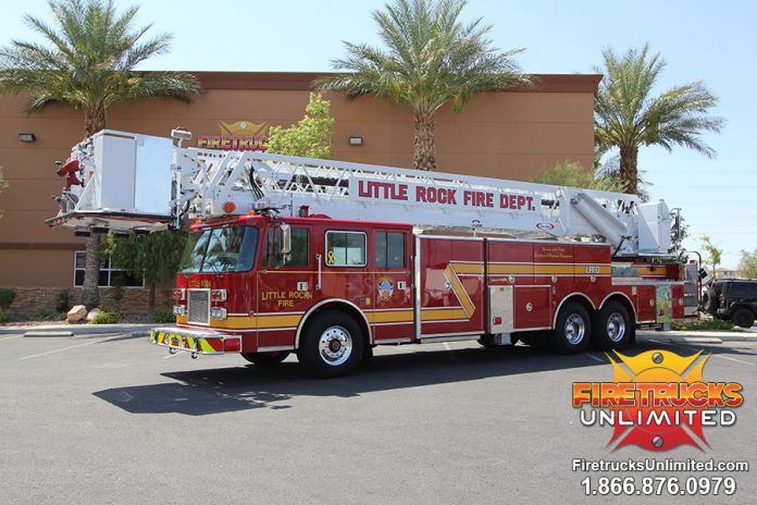 Little Rock Fire Department - 1993 Pierce Platform Refurbishment After