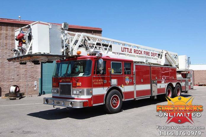 Little Rock Fire Department - 1993 Pierce Platform Refurbishment Before