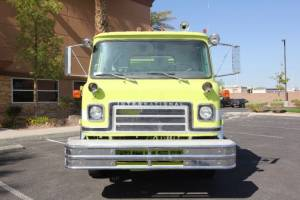 Mission Fire Tender Repaint
