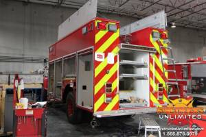 Pierce Haz Mat Vehicle Refurb
