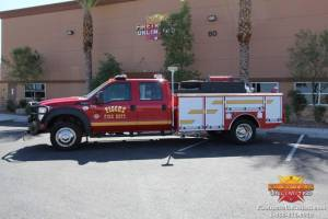 he Fire Department - F550 Quick Attack