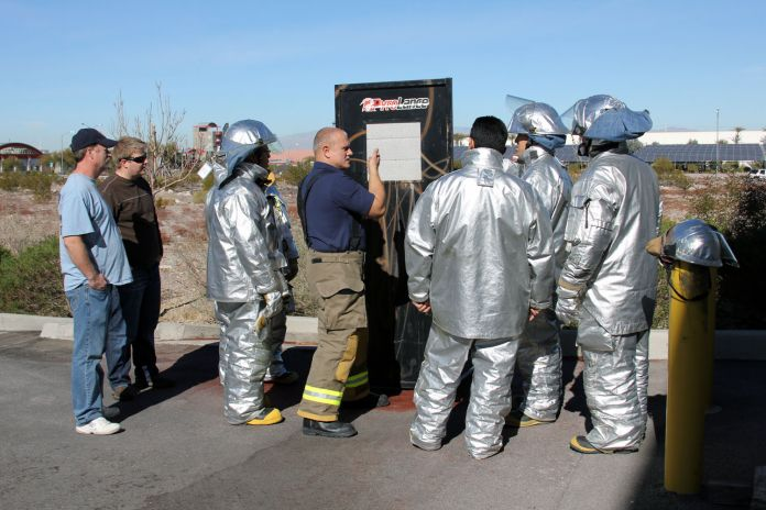 Pyrolance Training At Firetrucks Unlimited