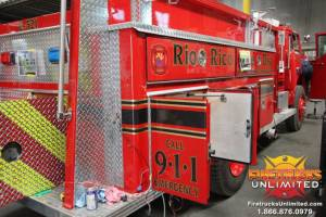 1981 Ford/E-One Pumper Refurb6