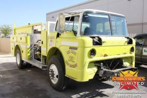 1981 Ford/E-One Pumper Refurb