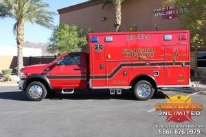 u-Rio Rico F.D. Wheeled Coach Ambulance Remount (Dodge)