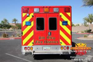 Rio Rico F.D. Wheeled Coach Ambulance Remount (Dodge)